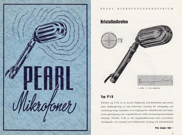 Pearl Brochure 1940s